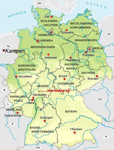 geographische deutschlandkarte my blog